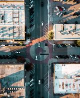 intersection view from above