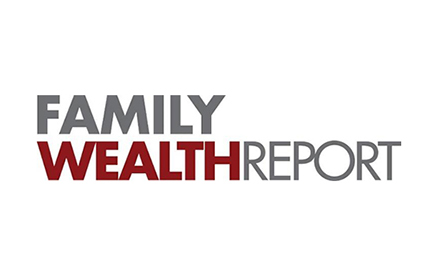 family wealth report logo