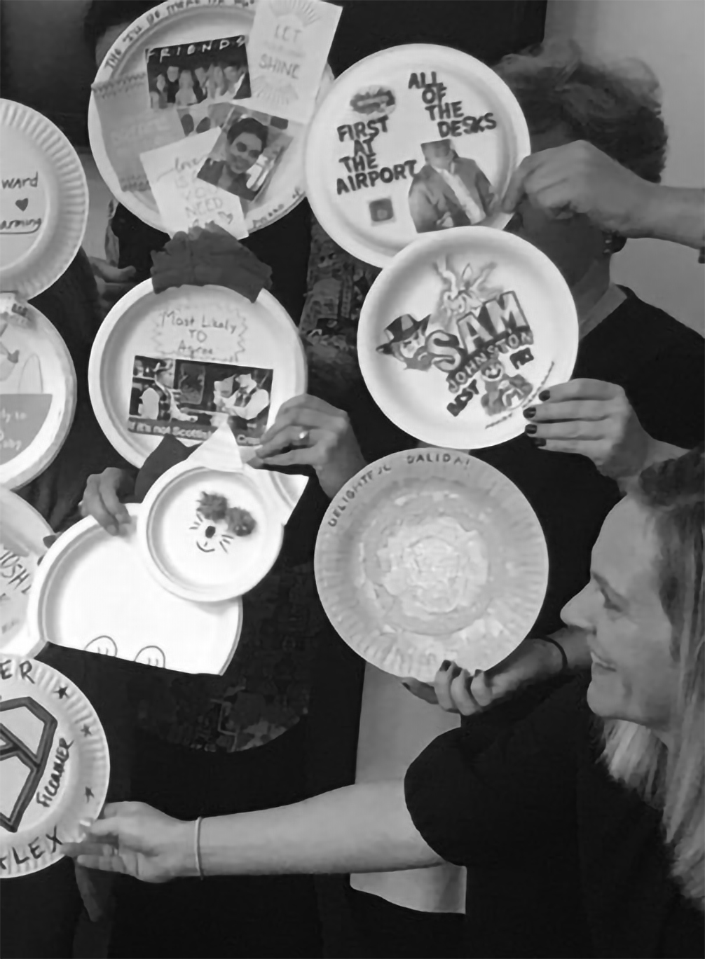 FiComm paper plate awards